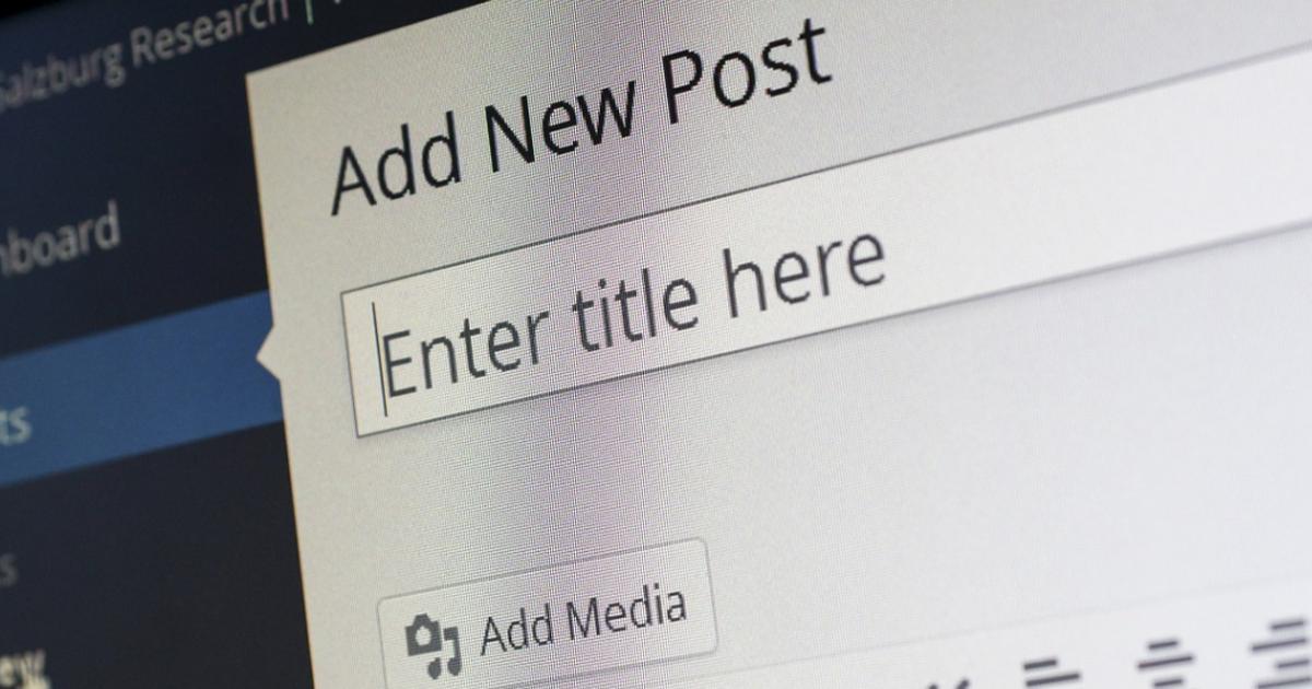 ¿Cómo distribuir el contenido de mi blog?