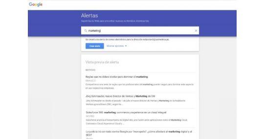 ¿Cómo usar Google Alerts a favor de tu marca?